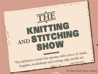 The Knitting and Stitching Show   The Book Jotter