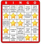 Reading Bingo Completed